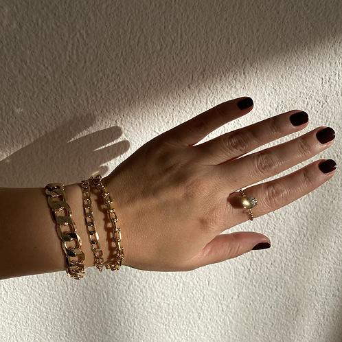 Champagne Gold Bracelet Set