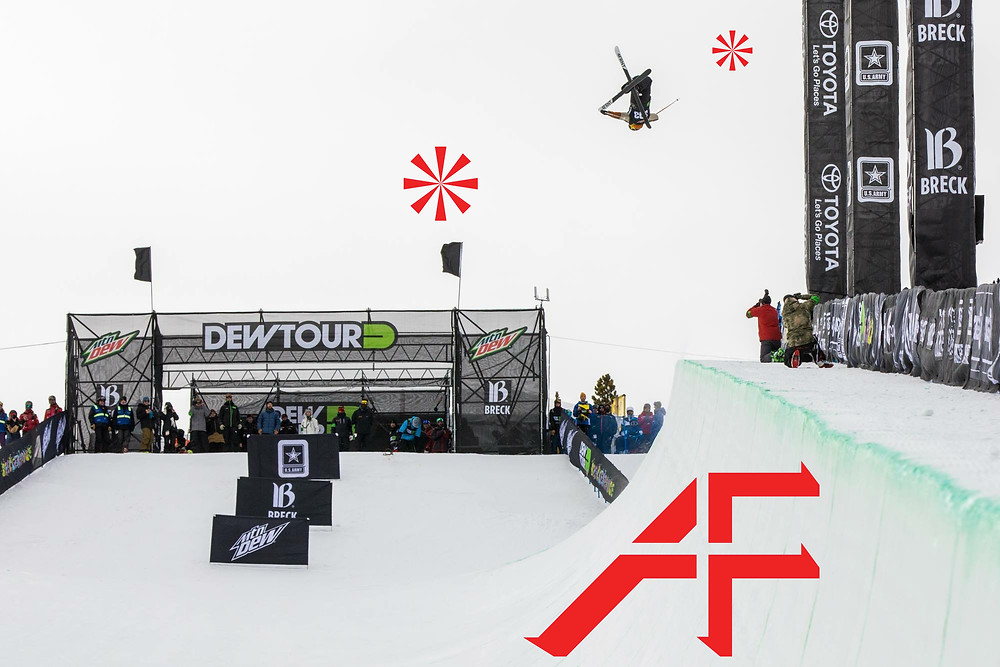 alex ferreria flying high at the dew tour #brekenridge