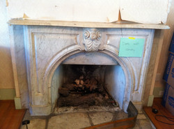 19th century marble mantle