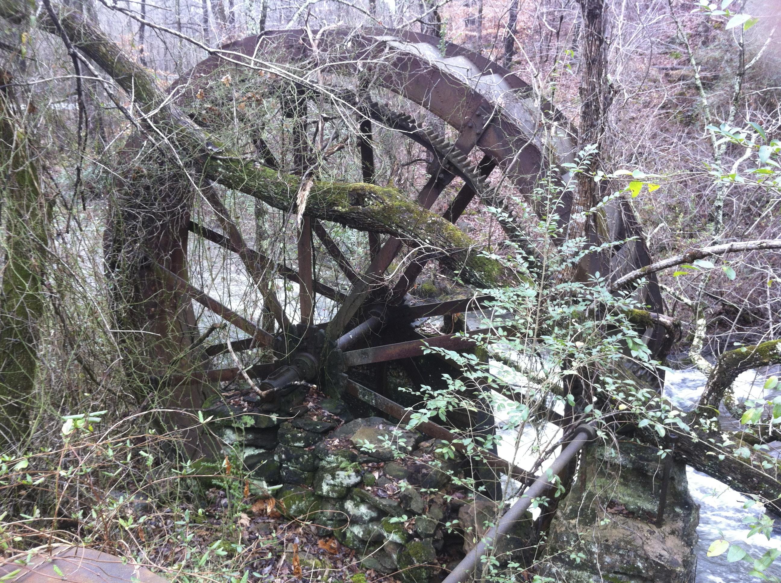 Late 19th century water wheel