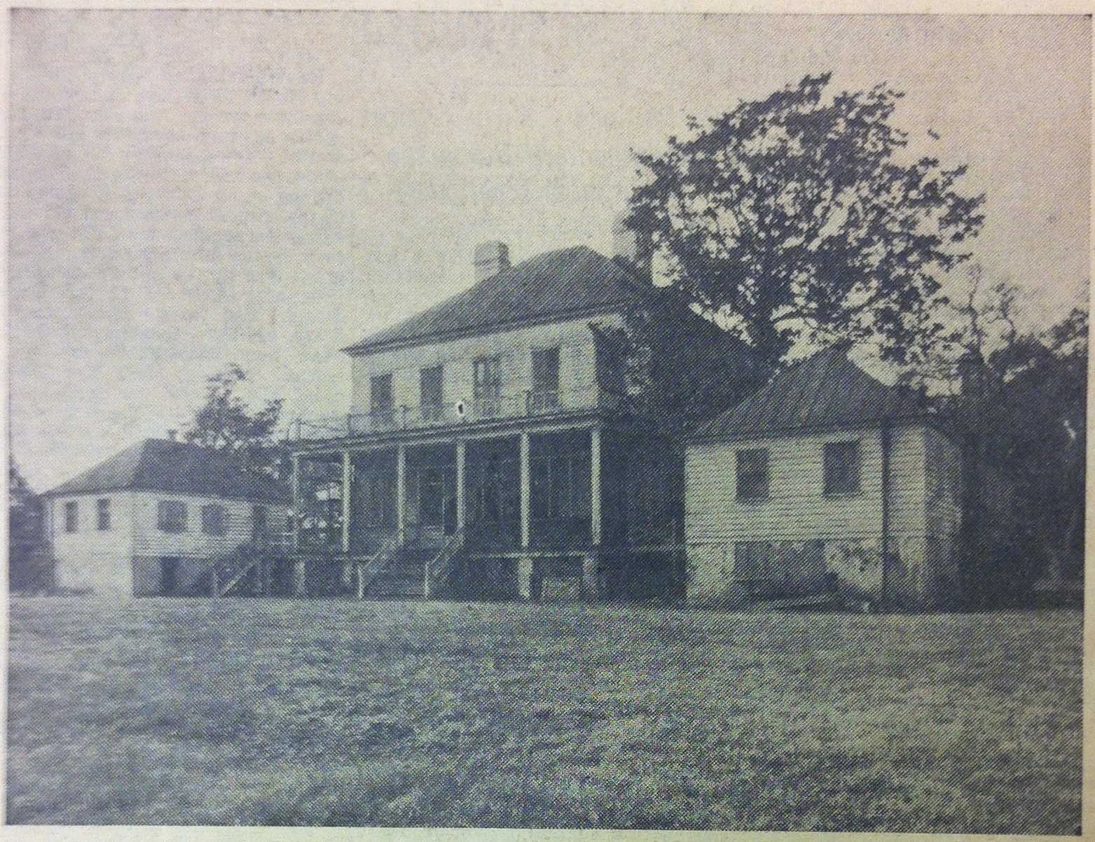 Belvidere farm house, lost