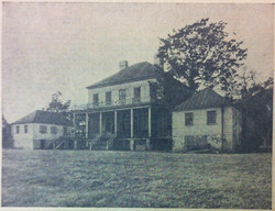 Belvidere farm house, lost