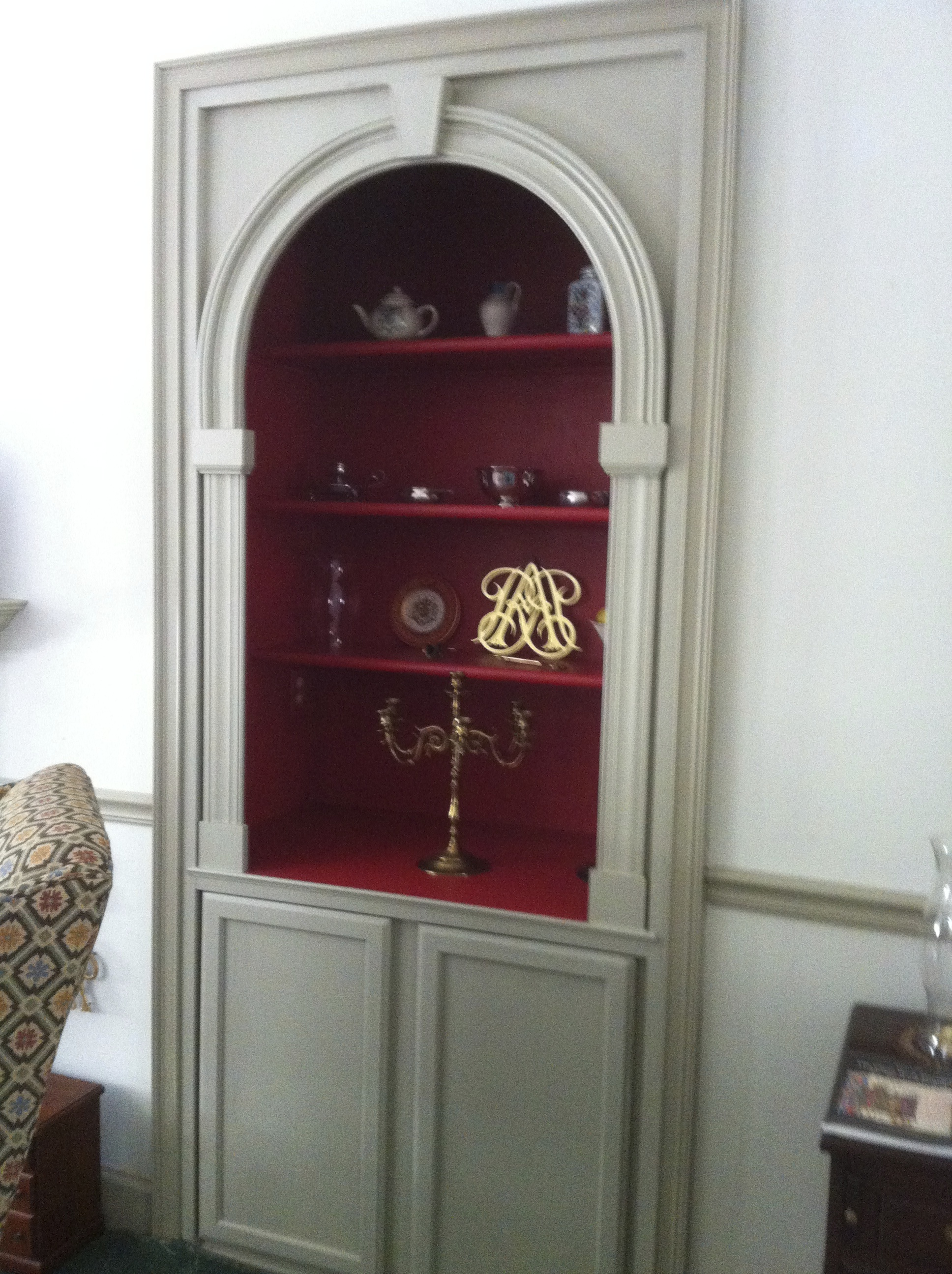 Georgian Style custom Cabinet