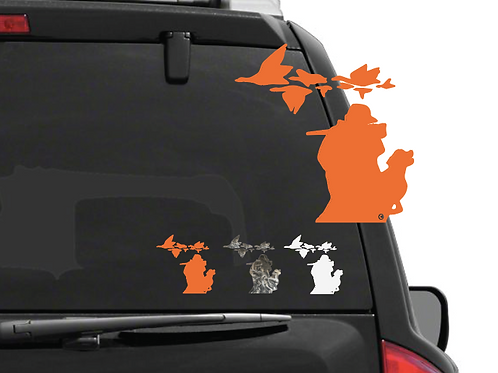 Duck Hunter Decal (small)