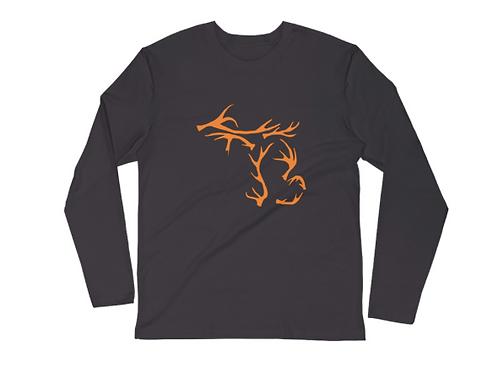 Long Sleeve Michigan Antlers