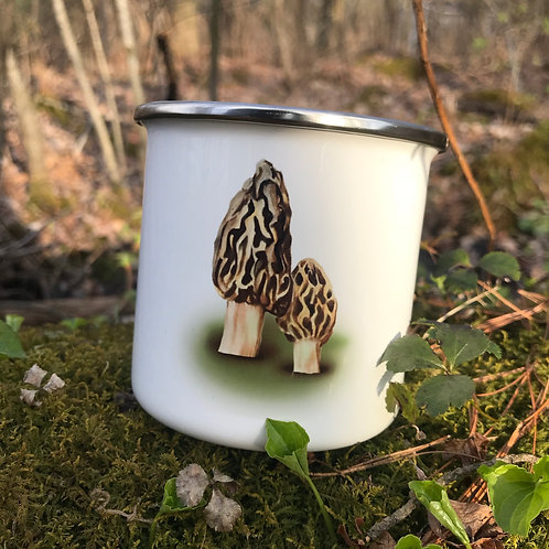 Morel Camp Mug