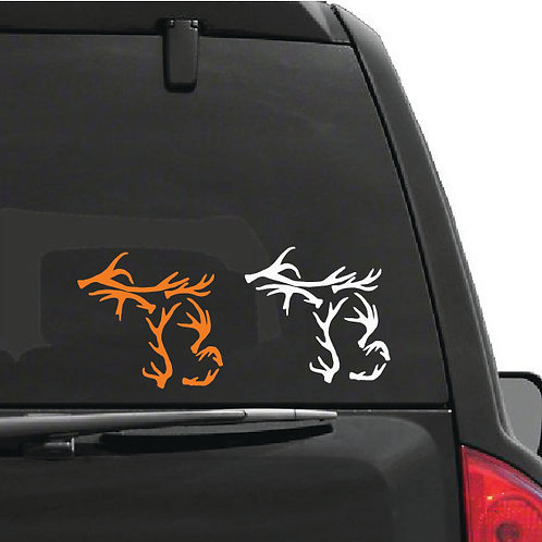 Michigan Antler Decal (large)