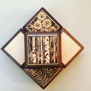 Birch Ring Box