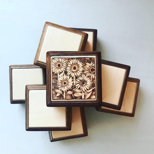 Sunflower Patch Ring Box