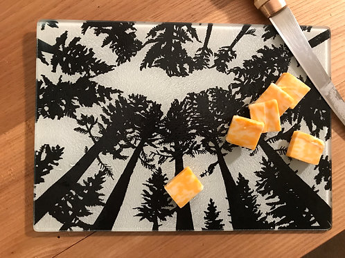 U.P. Tempered Glass Cutting Board