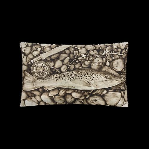 Trout Decorative Pillow