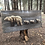 Thumbnail: Mountain Bears Wood Burned Art by Tom Reverman