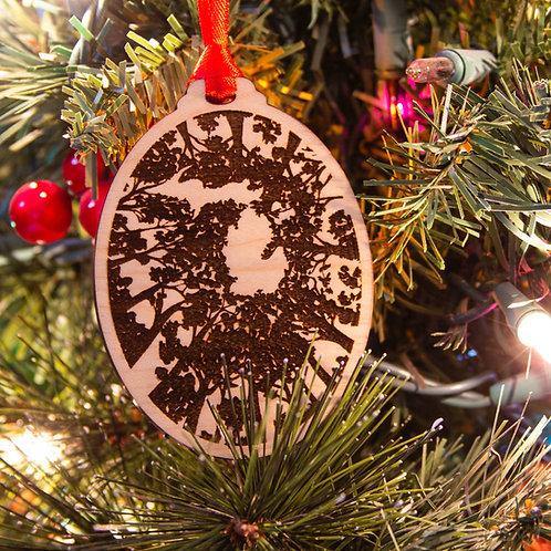 Michigan Treetops Ornament