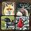 Thumbnail: Wildlife Hardboard Coasters