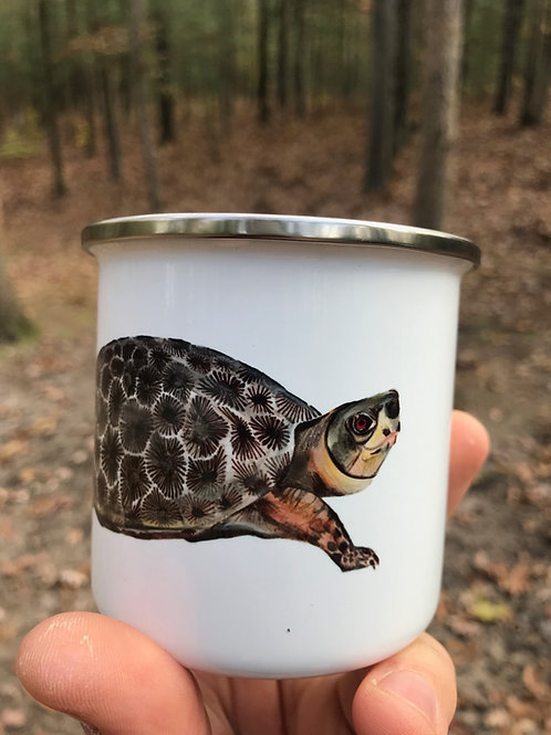 Petoskey Turtle Camp Mug