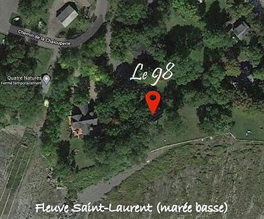 Hébergement touristique à louer, bord du fleuve Saint-Laurent, région de Québec, location, hébergement, appartement de tourisme à louer