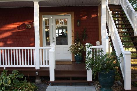 Appartement de tourisme le 98, Saint-Laurent-de-l'Île d'Orléans, région de Québec.  Accomodation touristique / location / hébergement à louer