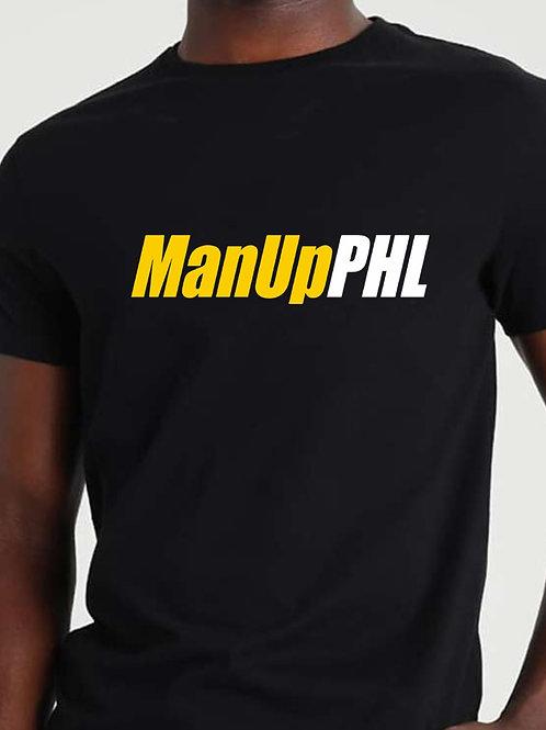 ManUpPHL T-shirt