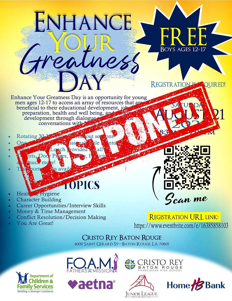 FOAM _ Enhance Your Greatness - UPDATED.jpg POSTPONED.jpg