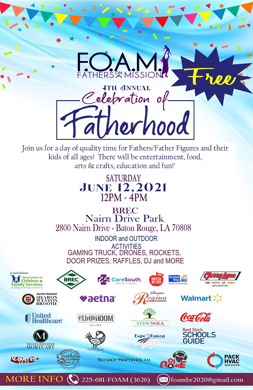 Celebration of Fatherhood Flyer 06.03.21