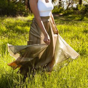 Shimmer skirt - Small