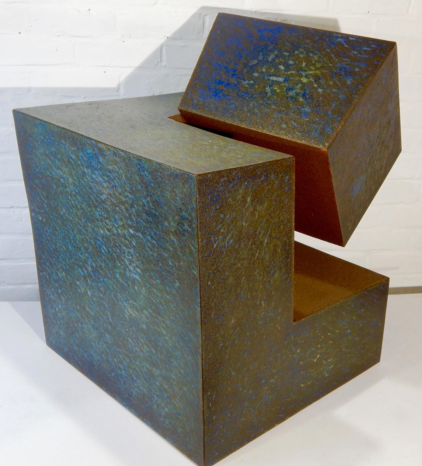 Immuable alaindensstudio sculpture m tal g om trique - Sculpture exterieure metal ...