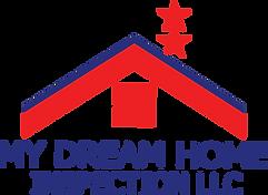 My Dream Home Inspection Logo_Blue Strip