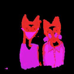 cat mask clear