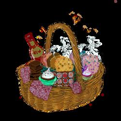 Sweet basket clear
