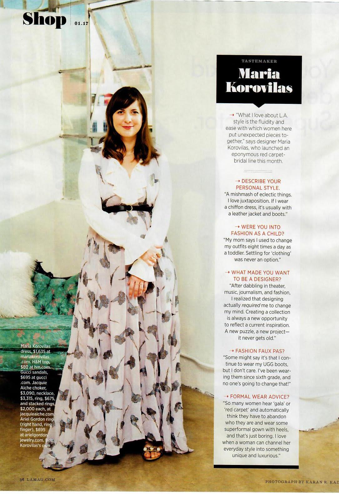 LA Magazine, January 2017