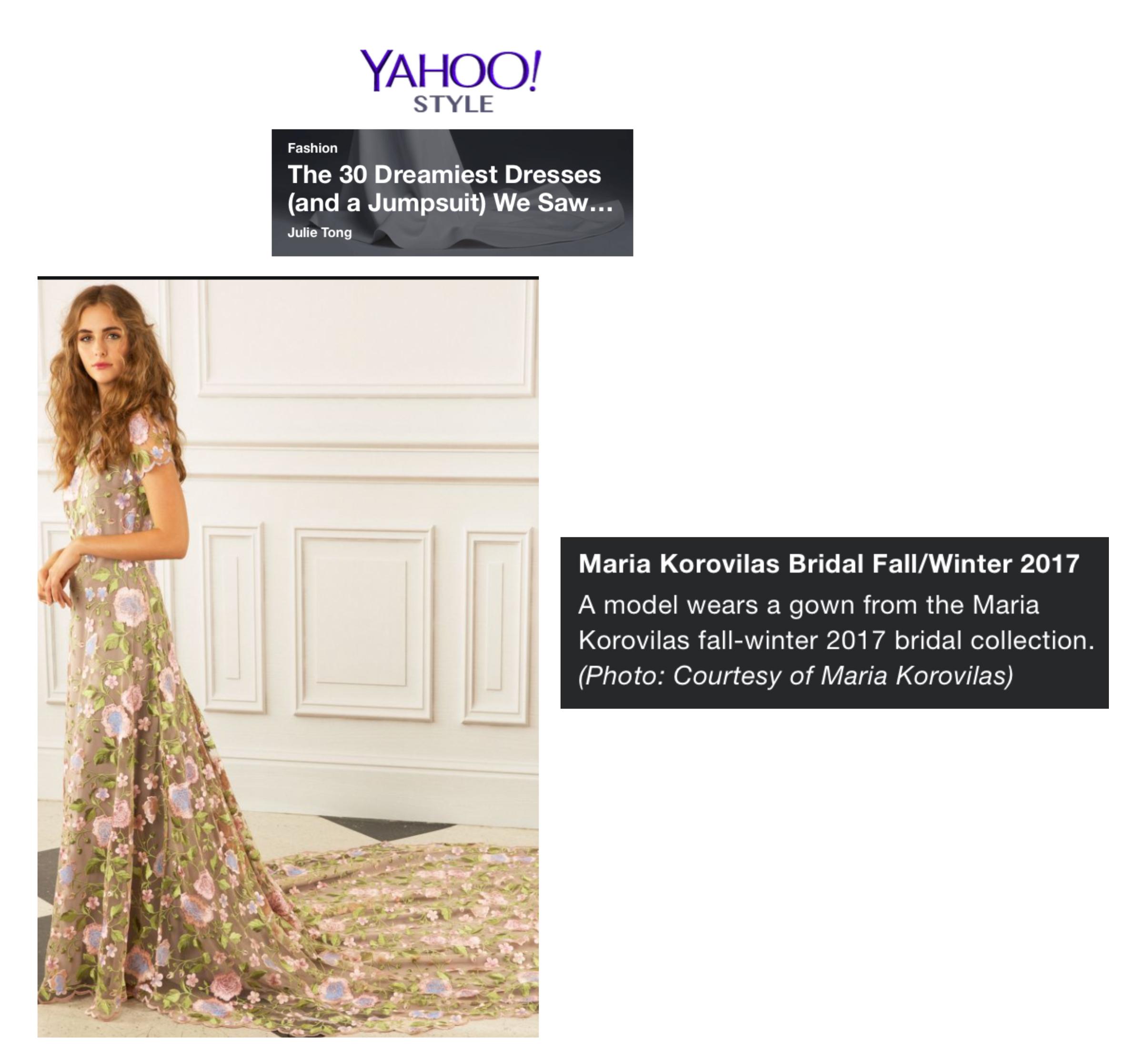 Yahoo! Style, December 2016