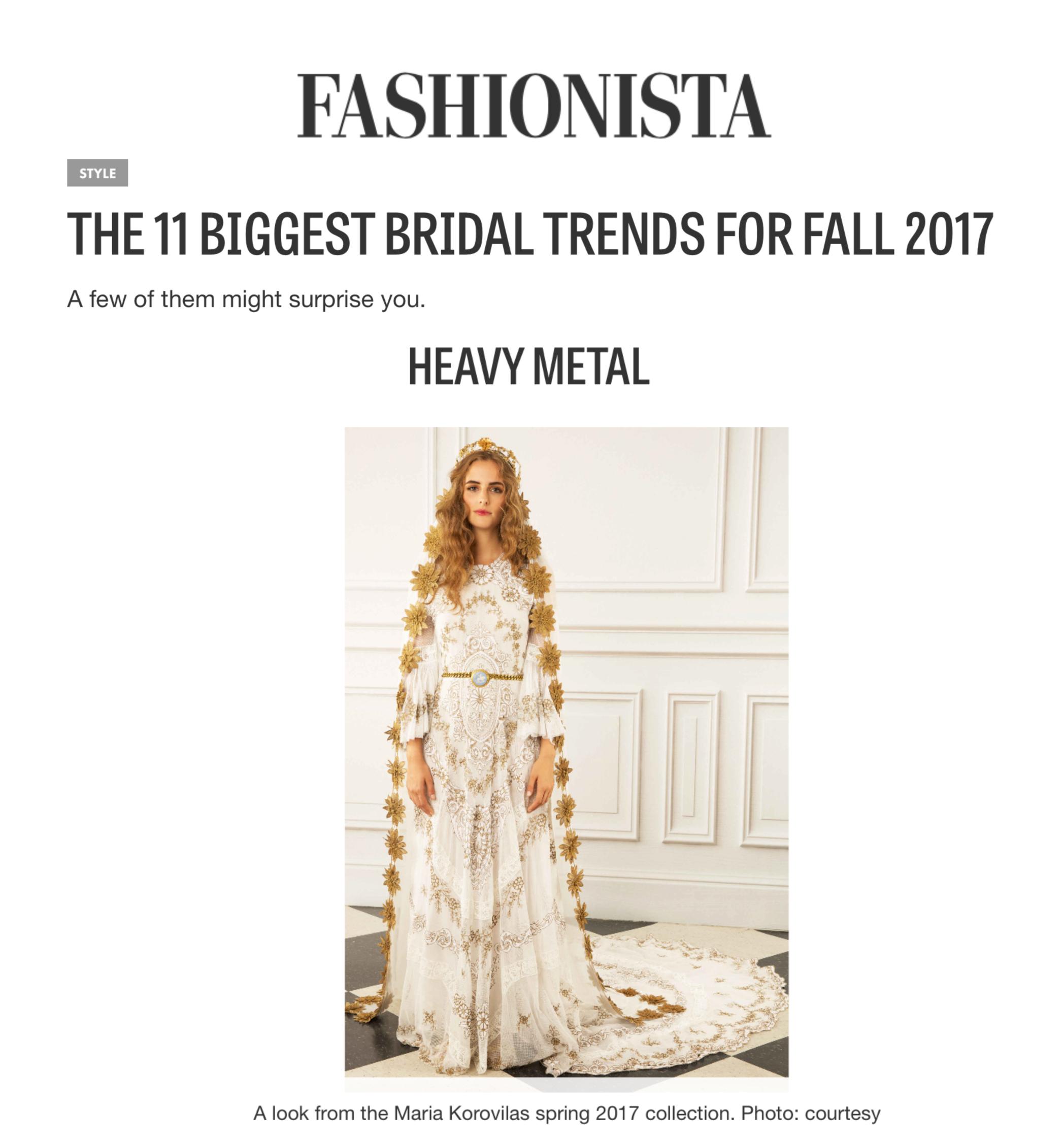 Fashionista, December 2016