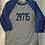 Thumbnail: Adult Unisex Baseball Tee - Navy/Blue - 29715