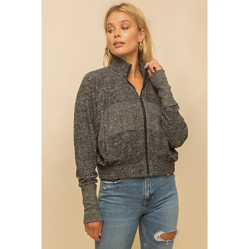 Soft and Stretchy Cropped Jacket