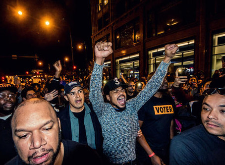 Chance The Rapper Encourages Everyone To Vote!