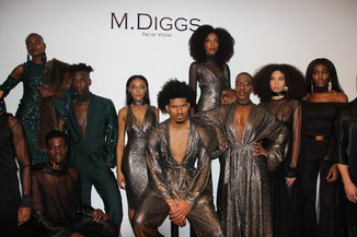 M. Diggs presents Mahogany inspired collection: 2017 New York Fashion Week