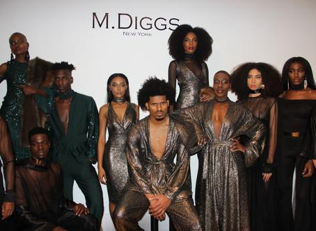 M. Diggs presents Mahogany inspired collection: 2017 New York Fashion Week