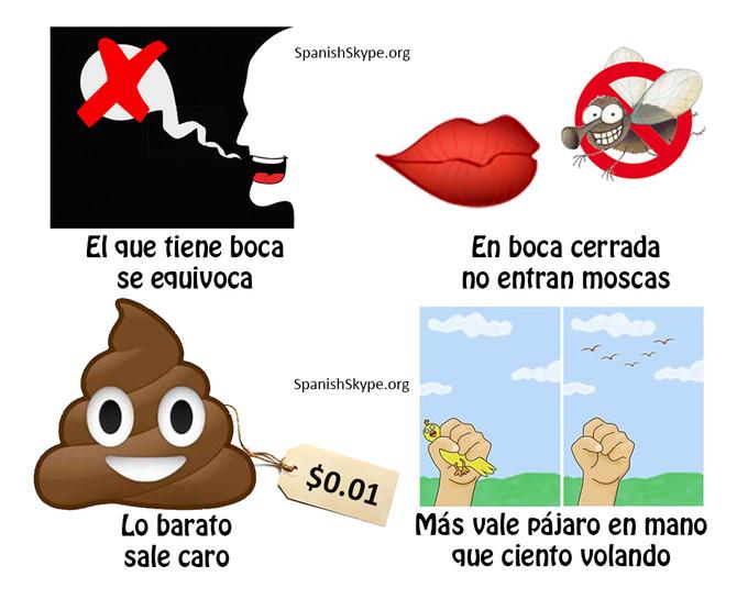 Spanish sayings II