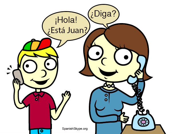 Mobile phone vocabulary: learn to have a phone conversation in Spanish