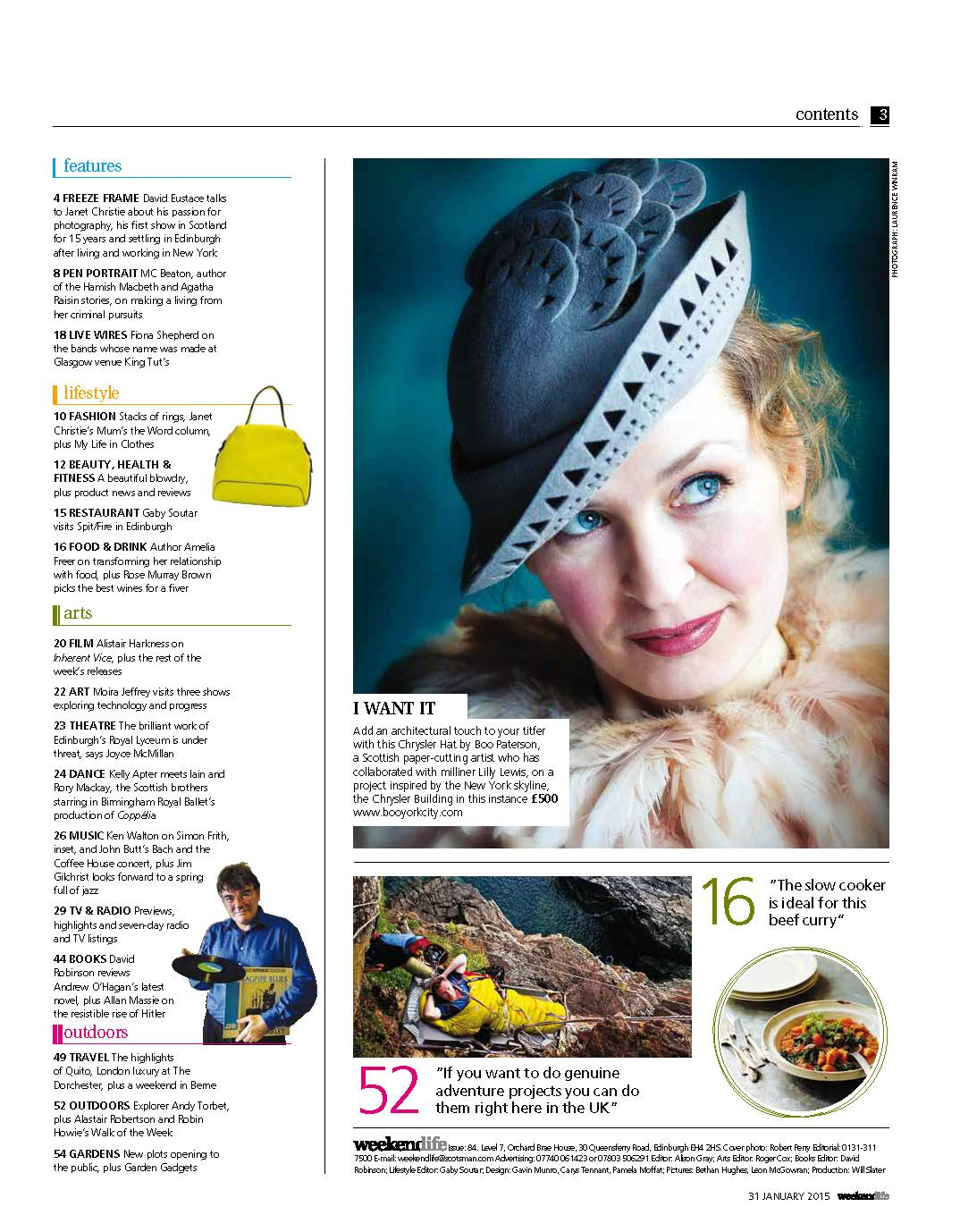 The Scotsman Magazine - feature