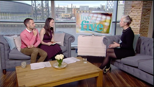 Talking about Papercut This Book on Live at Five