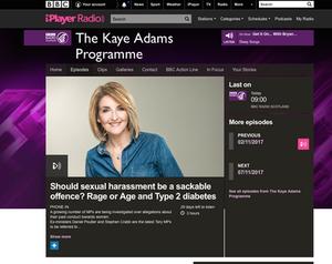 Kaye Adams programme