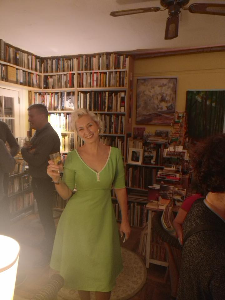 US launch party at the secret bookshop in New York