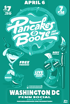 the pancake and booze art show