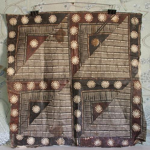 A Fijian tapa cloth.
