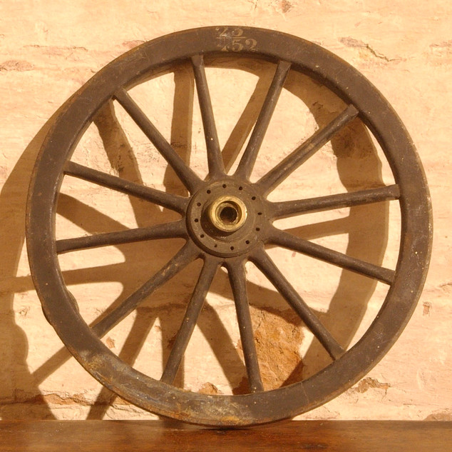 Devil Carriage wheel.