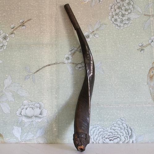 A horn pipe. Congo. 19th C.