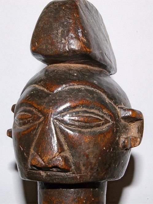 A Yaka slit drum. D.R. Congo.