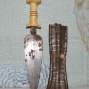 Mangbetu knife.