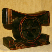 A Zulu or Tsonga cartwheel headrest.